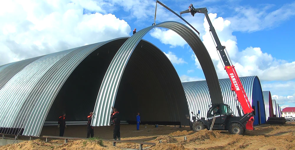 Winnerstroy - Design and construction company Advantages of prefabricated hangars Other sections