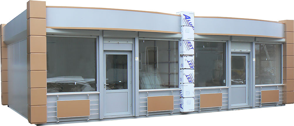 Winnerstroy - Design and construction company Trading booths Other sections