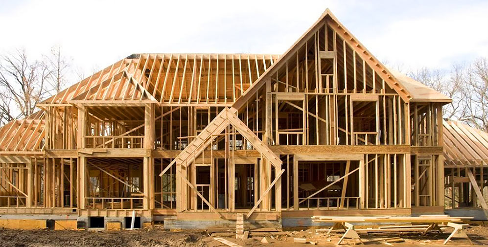 Frame-panel house - frame house for Canadian technology