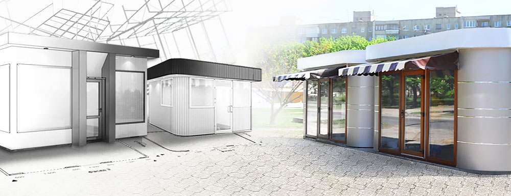 Winnerstroy - Design and construction company Shopping pavilions Other sections