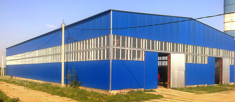 Winnerstroy - Design and construction company Storage hangar Building