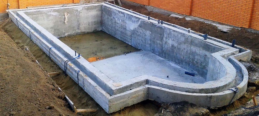Winnerstroy - Design and construction company Construction of concrete pools in Kiev and the region Swimming Pools