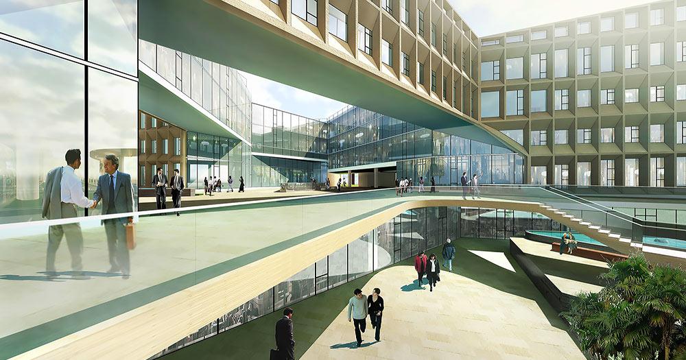 Winnerstroy - Проектно-строительная компания Проектирование административных зданий Архитектурное проектирование