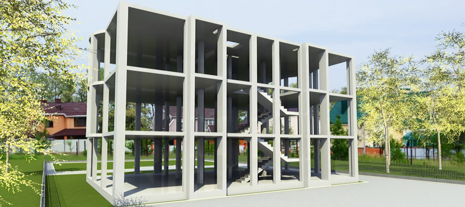 Winnerstroy - Design and construction company Reinforced concrete structures Building