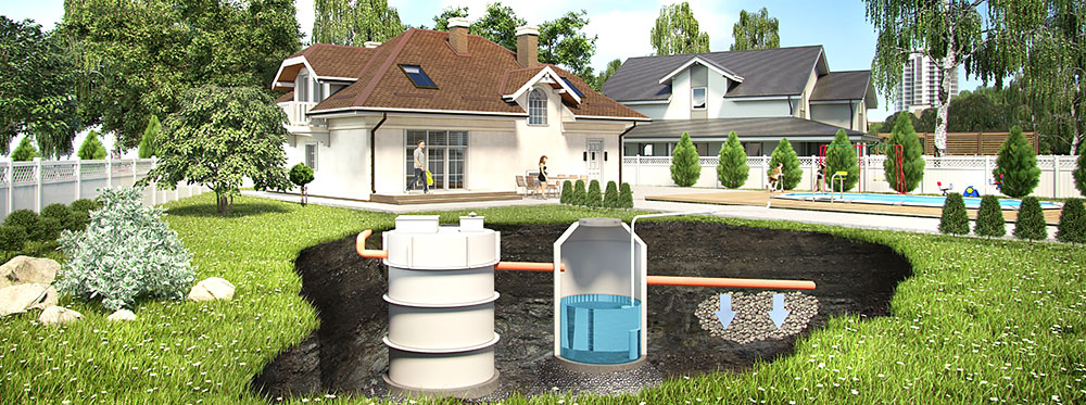 Winnerstroy - Проектно-строительная компания Автономные канализации для коттеджей и дач Бассейны