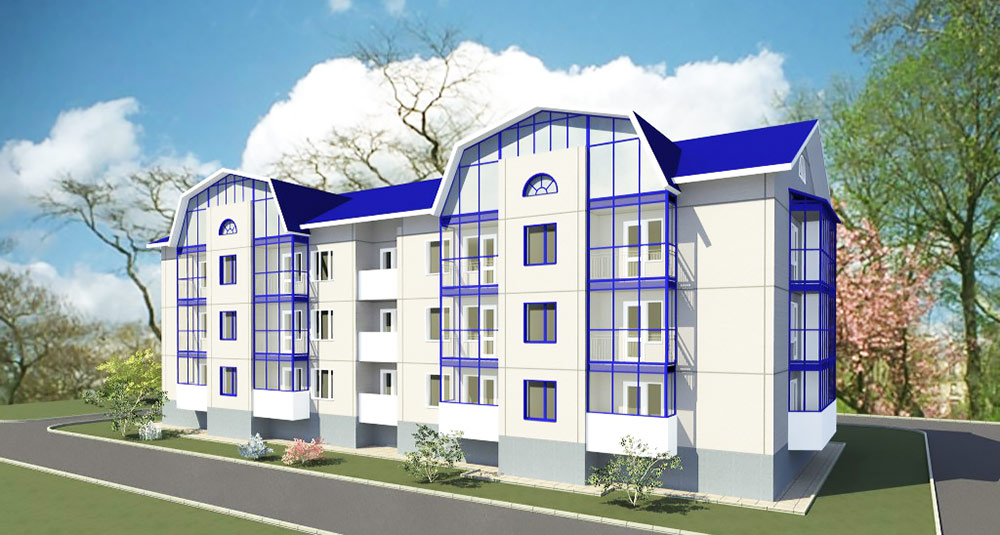 Winnerstroy - Design and construction company Low-rise buildings Architectural design