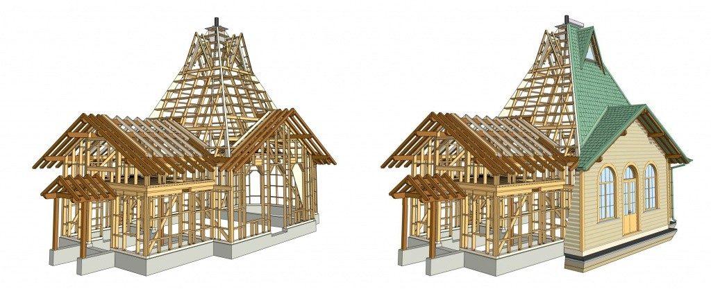 Winnerstroy - Проектно-строительная компания Проекты деревянных конструкций Статьи